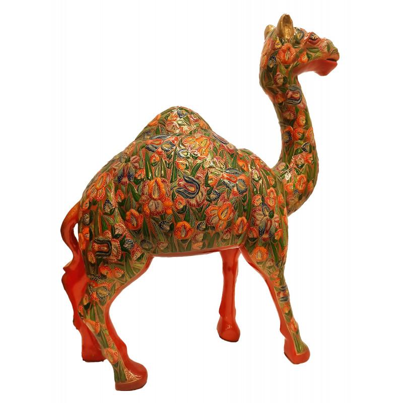 Papier Mache Handcrafted Camel