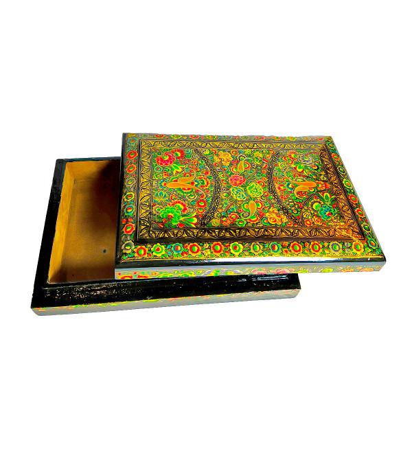 FLAT BOX 9X6 REAL GOLD WORK