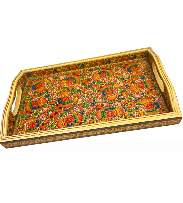 TRAY WITH HANDLE 11X7 INCH