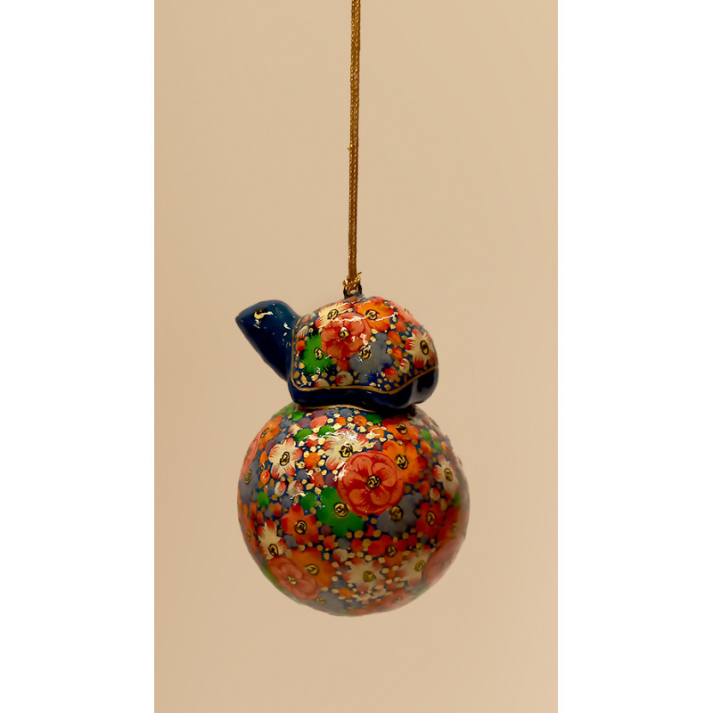 Papier Mache Handcrafted Christmas Hanging