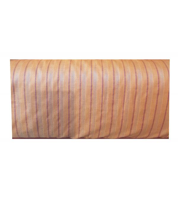 Cotton Handwoven Stripe Fabric Width 44 Inch