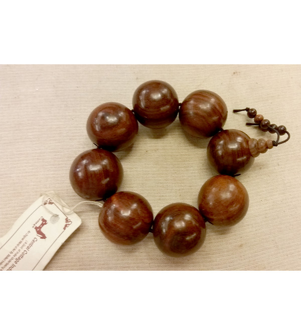 30 MM BRACELET RED SANDAL WOOD
