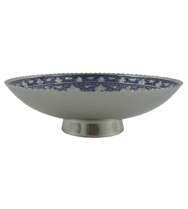 HANDICRAFT KANGURA NICKEL PLATED BOWL 6.5 INCH