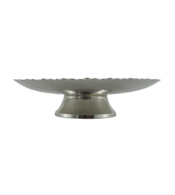HANDICRAFT PHOOLWALA NICKEL PLATED BOWL 5.5 INCH