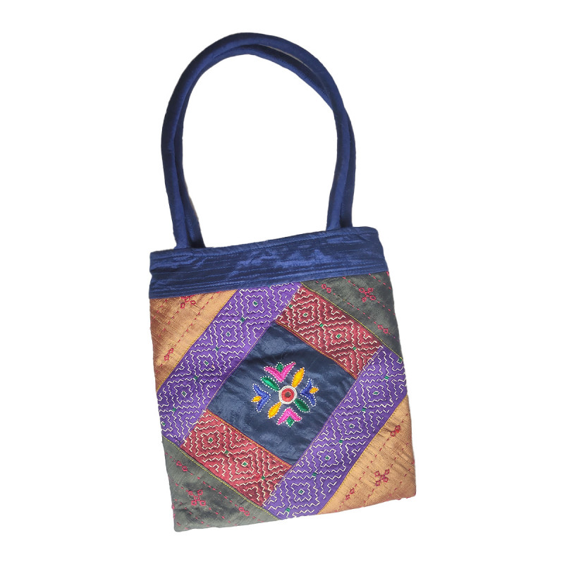 CCIC Handcrafted Bhuj Bag With Embroidery Work Size 12x10 Inch