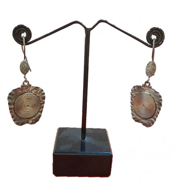 Silver e ring