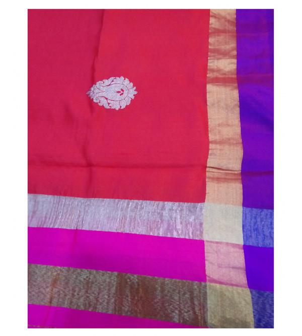 Silk Handwoven Dupatta from Banaras