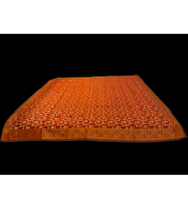 72INCH ROUND TABLE CLOTH SILK BANARAS