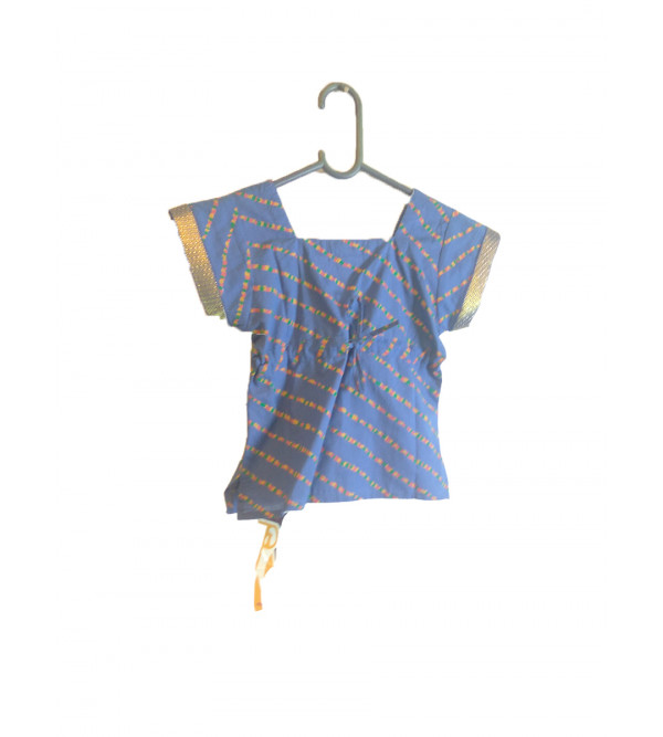 Cotton Hand Woven Top Size 1 Year