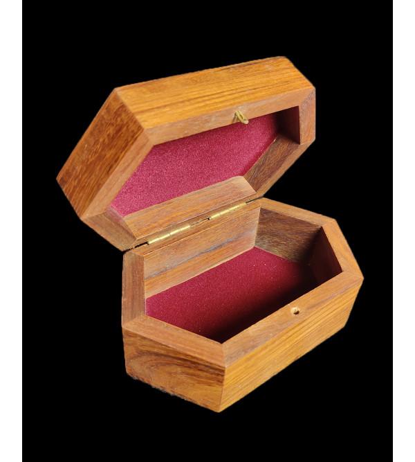 BOX WIRE INLAY 5X3 INCH BL STY