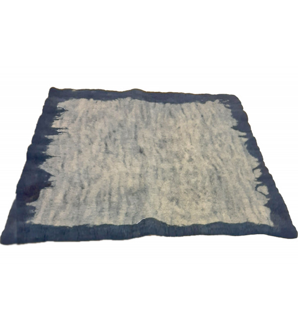 30X30 INCH PURE SHEEP WOOL YOGA MAT WITH COVER