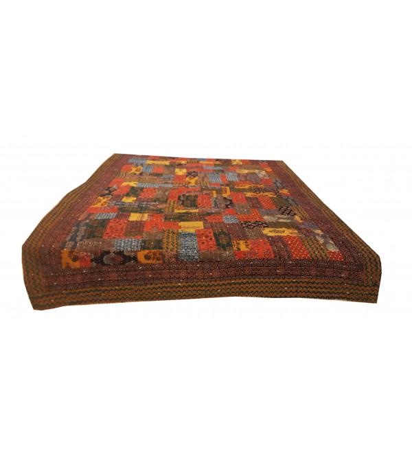 Applique Cotton Bedcover Size 60x90 Inch