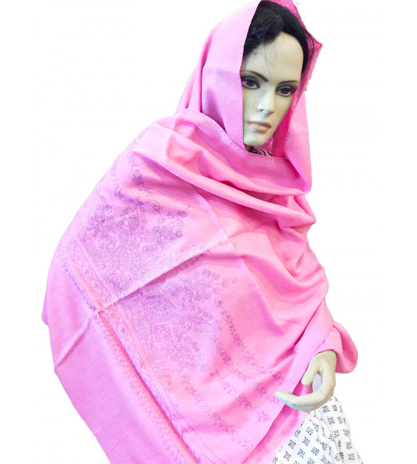 Raffal Embroidered Shawls assorted colours
