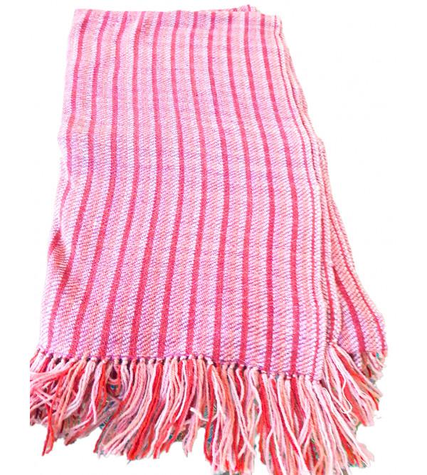 Pure Wool Kullu Shawl Size,40X80 Inch