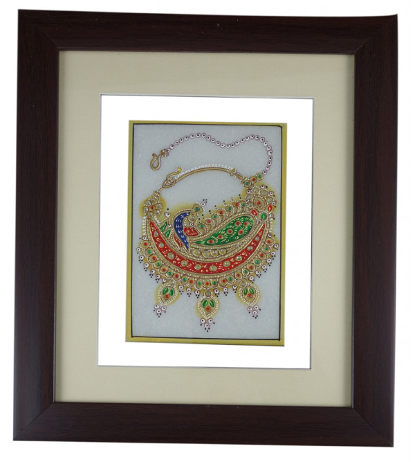 JEWELLERY PAINTING FRAMED 6x4 Inch