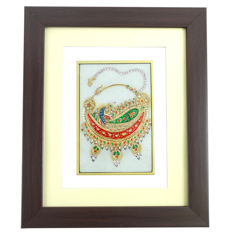 JEWELER PAINTING FRAMED ASSORTED 6x4 Inch