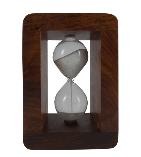 SAND TIMER SMALL 5.5 Inch wood case