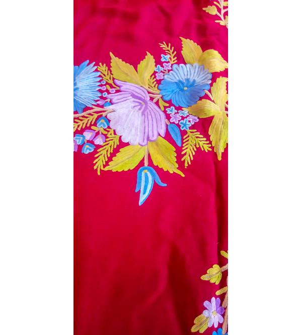 Stole Raffle Bootipalla Hand Embroidery 28 X80 Inch