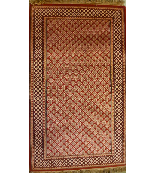 Bhadohi Hand Knotted  Woolen Carpet Size 3 ft X 5 ft