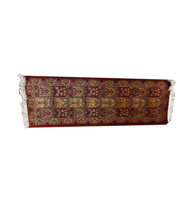 Jaipur  Woolen Hand Knotted carpet Size 7.5 ft x13 ft