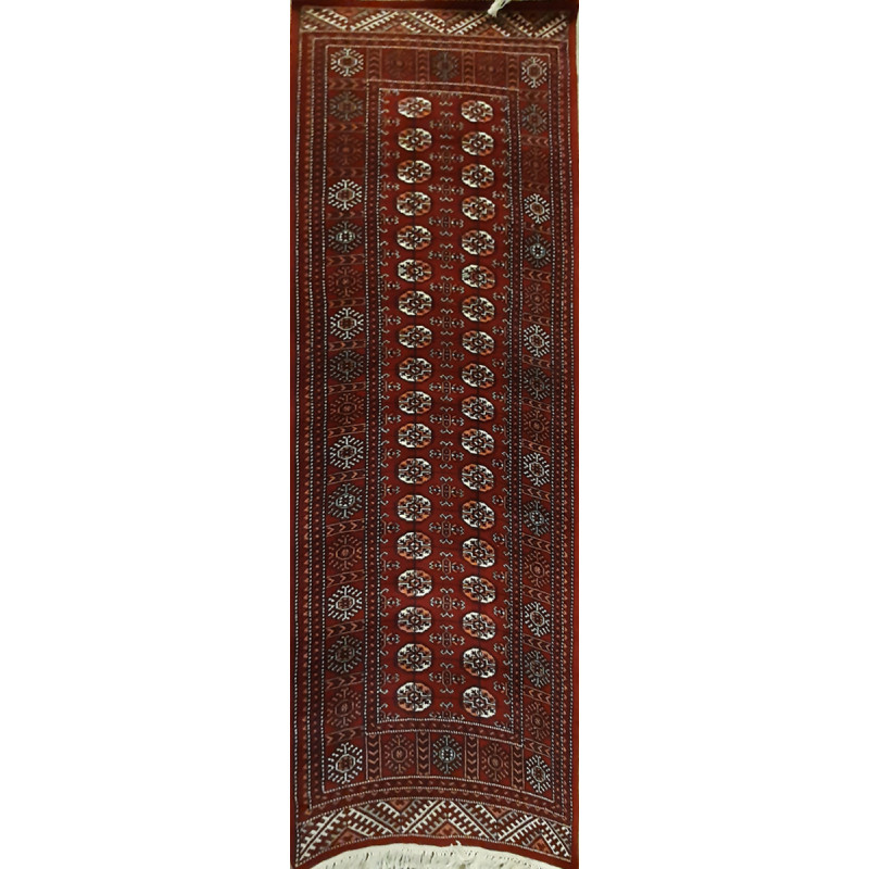 Jaipur  Woolen Hand Knotted carpet Size 2.5 ft. x8 ft.