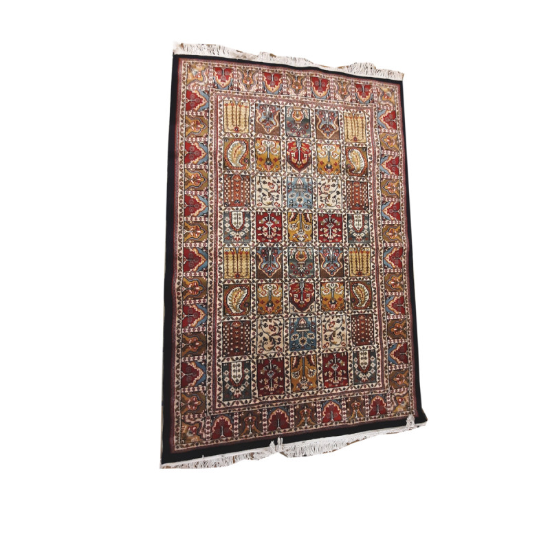 Jaipur  Woolen Hand Knotted carpet Size 4 ft x6 ft
