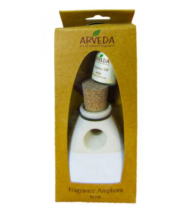Ayurveda Fragrance Amphora 10ml Miceramic Bottle