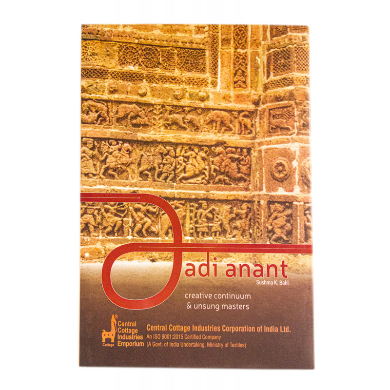 Aadi Anant book of Creative Continuum & unsung masters  by Sushma K. Bahl