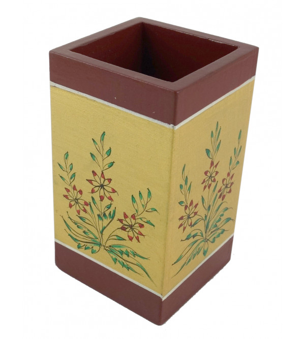 PAINTED PEN HOLDER JAIPUR STYLE 2.5x3 inch