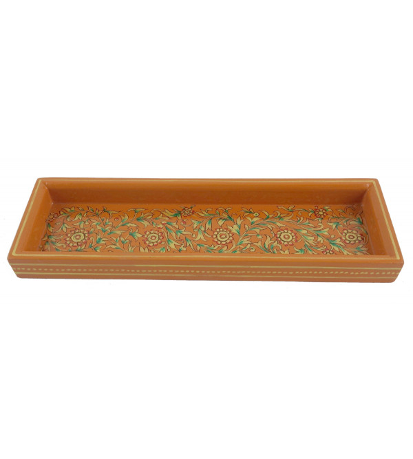 PAINTED TRAY JAIPUR STYLE 3x9 inch