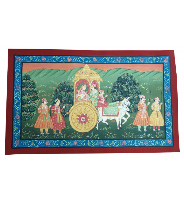 Handmade Assorted Pichwai Cotton Painting 12x18 Inch