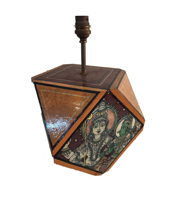 Wooden Handcrafted  Lamp Base