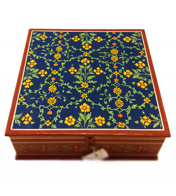 Wooden Hand Painted  Bangle Box Size 12X12 Inches