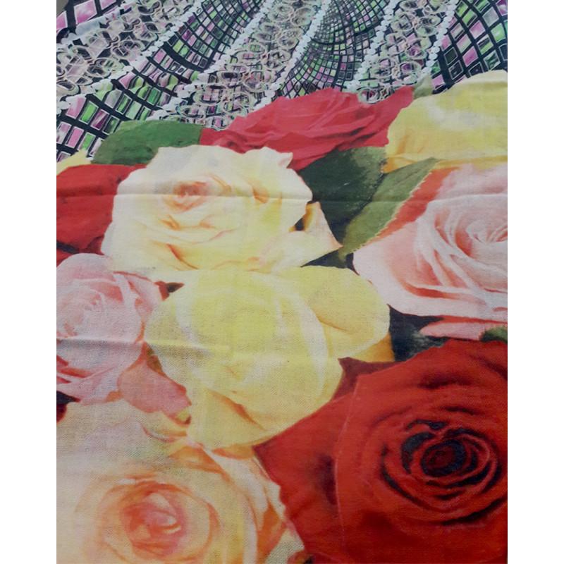 Printed  Woollen Stole Size ,28X80 Inch