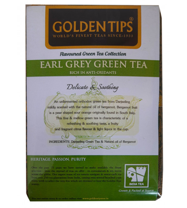 Earl grey DJ Green tea 100gm