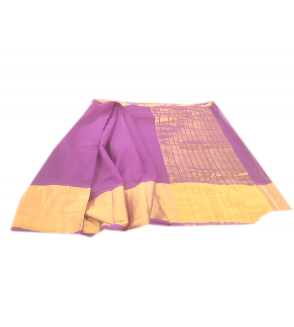 Kerala Cotton Hand woven Saree with Blouse