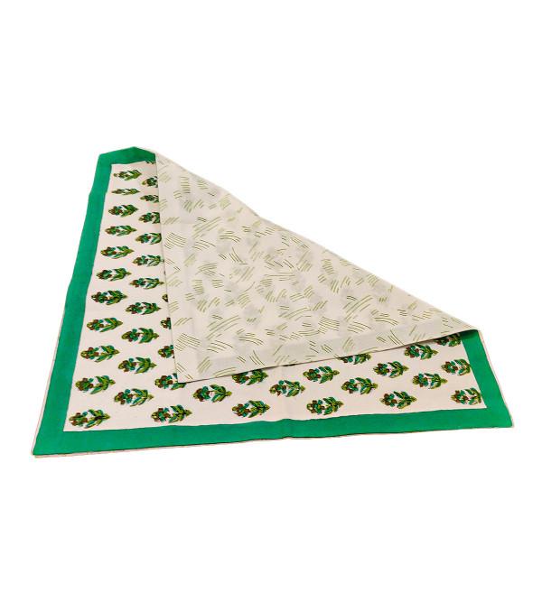 18x18 inch Hand Block Print Cushion Cover