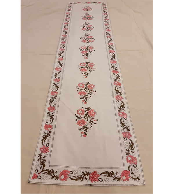 Cotton Block Printed Runner Size 13x60 Inch