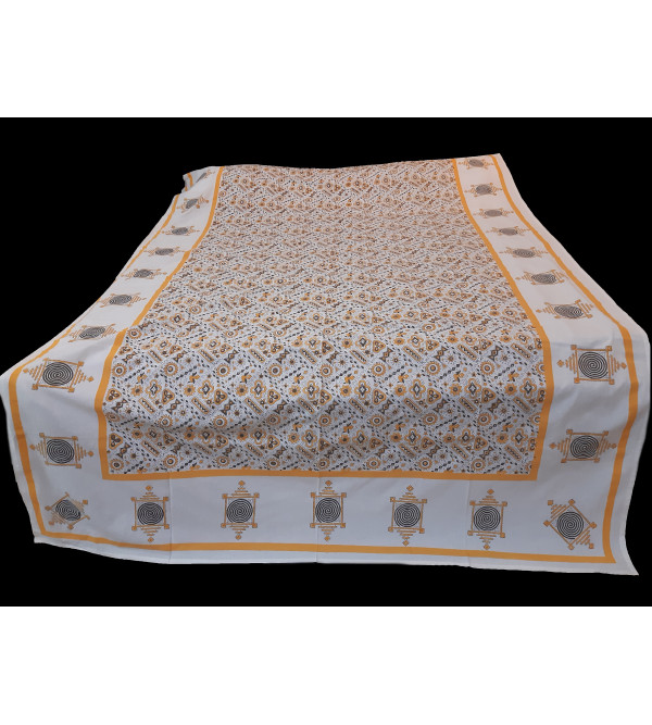 Cotton Printed Table Cover Size 72x108 Inch