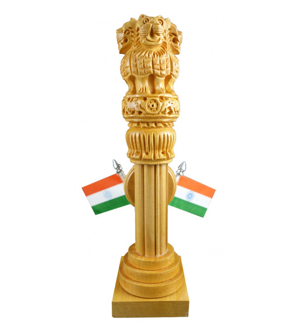 ASHOKA PILLAR WITH WATCH  FLAG flag kadam