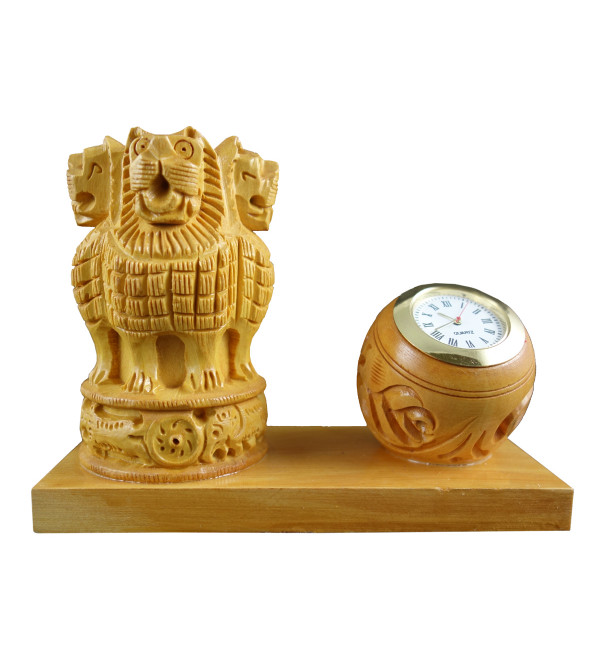 ASHOKA PEN HOLDER WITH WATCH kadam