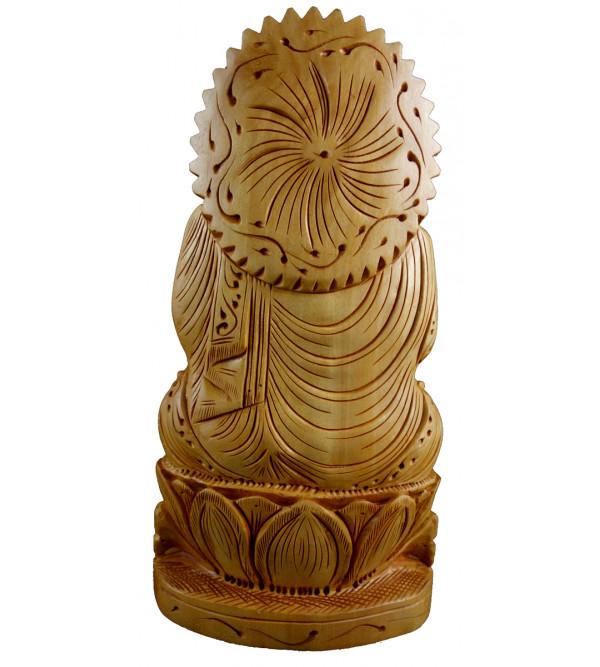 BUDDHA SITTING 8 INCH KADAM