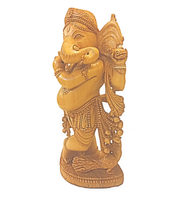 GOD FIGURE CARVED KADAM WOOD  18 inch