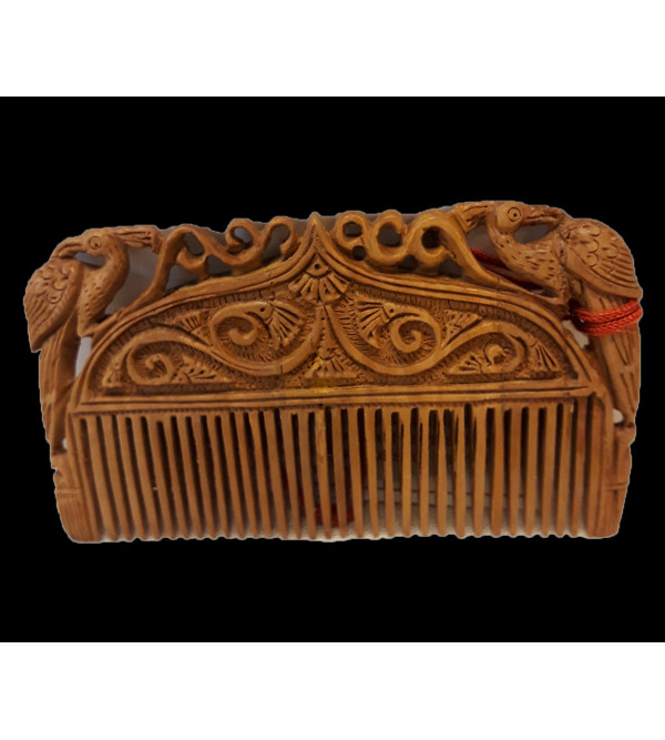 Sandalwood Handcrafted Carved Comb
