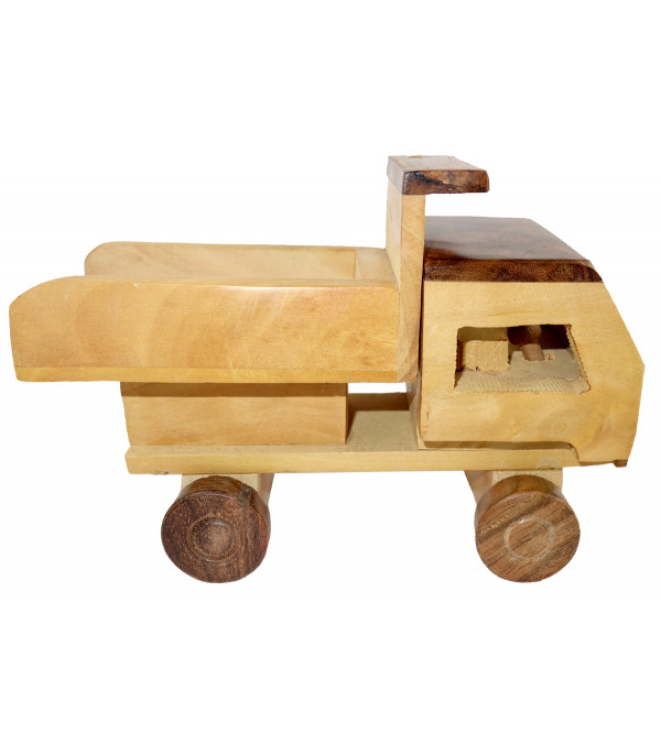 HANDICRAFT WOODEN TOYS TRACTOR 8x2.5x2.5 INCH