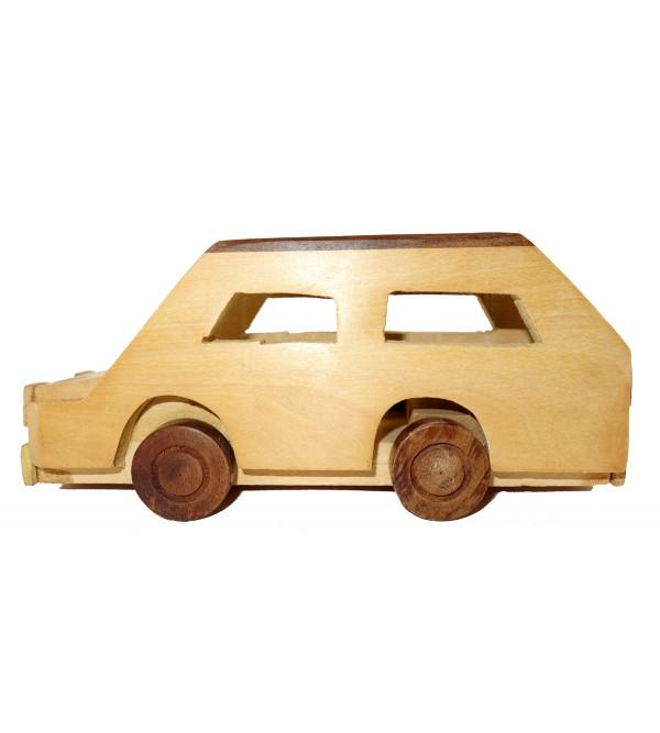 HANDICRAFT WOODEN TOYS CAR 5x2.5x2.5 INCH