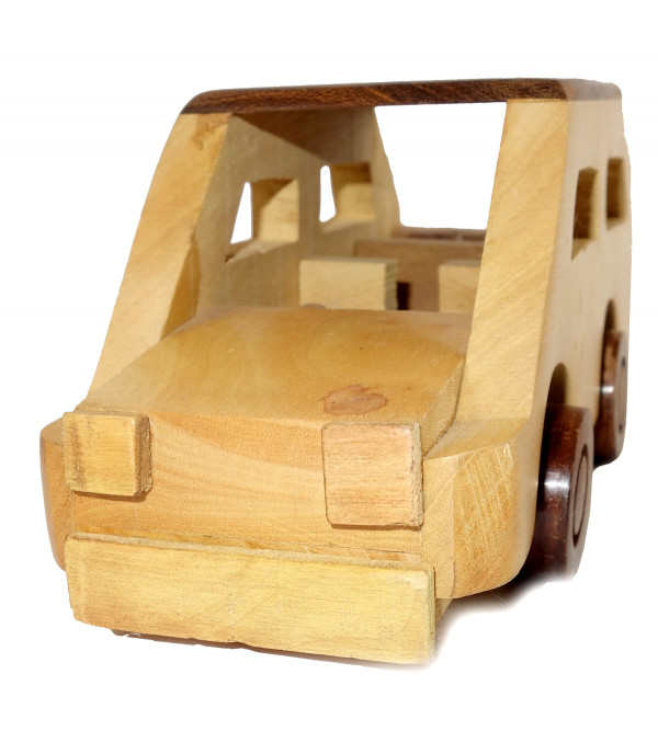 HANDICRAFT WOODEN TOYS CAR 5x2.5x2.5 INCH