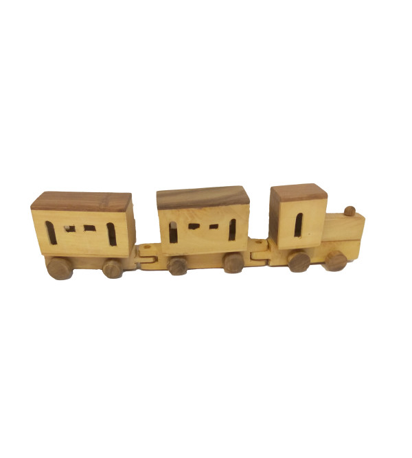 Handcrafted Wooden Train Size 12x2x2 Inch
