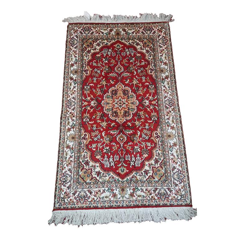 Kashmir carpet silk/cotton size 2.5x4ft knot18x18