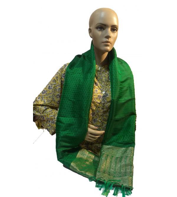 Banaras resham self woven stole 22x72 inch